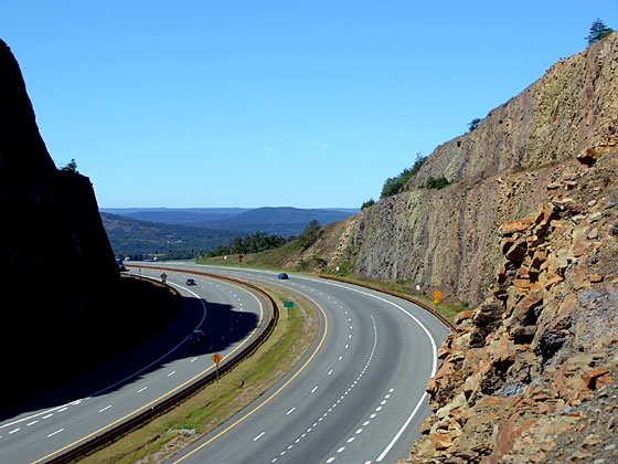 Interstate Highway 68, Sideling Hill, Maryland