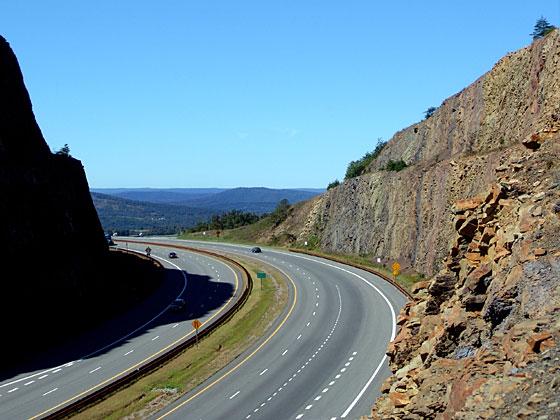 Interstate Highway 68, Sideling Hill, Maryland